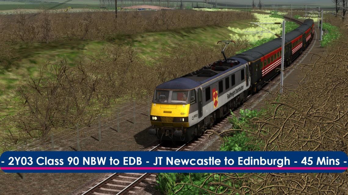 [90] 2Y03 (North Berwick to Edinburgh, 2005)