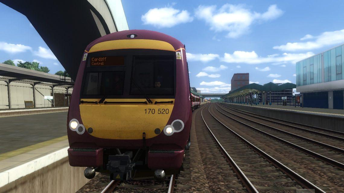 1V03 0600 Nottingham to Cardiff Central