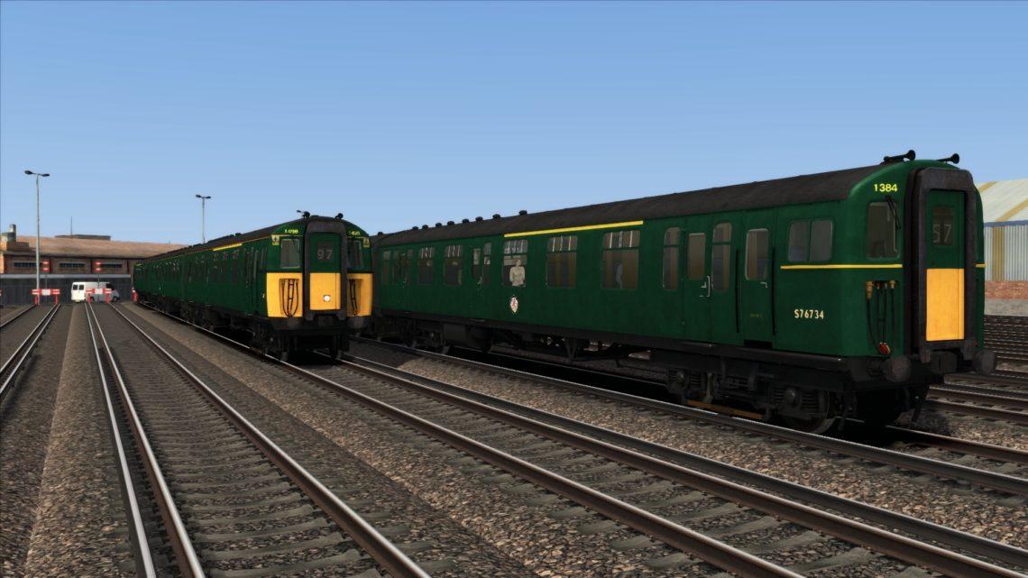 Class 421 BR Green
