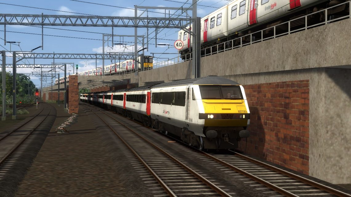 MLH Northbound Express for Great Eastern Mainline – London Liverpool Street to Norwich