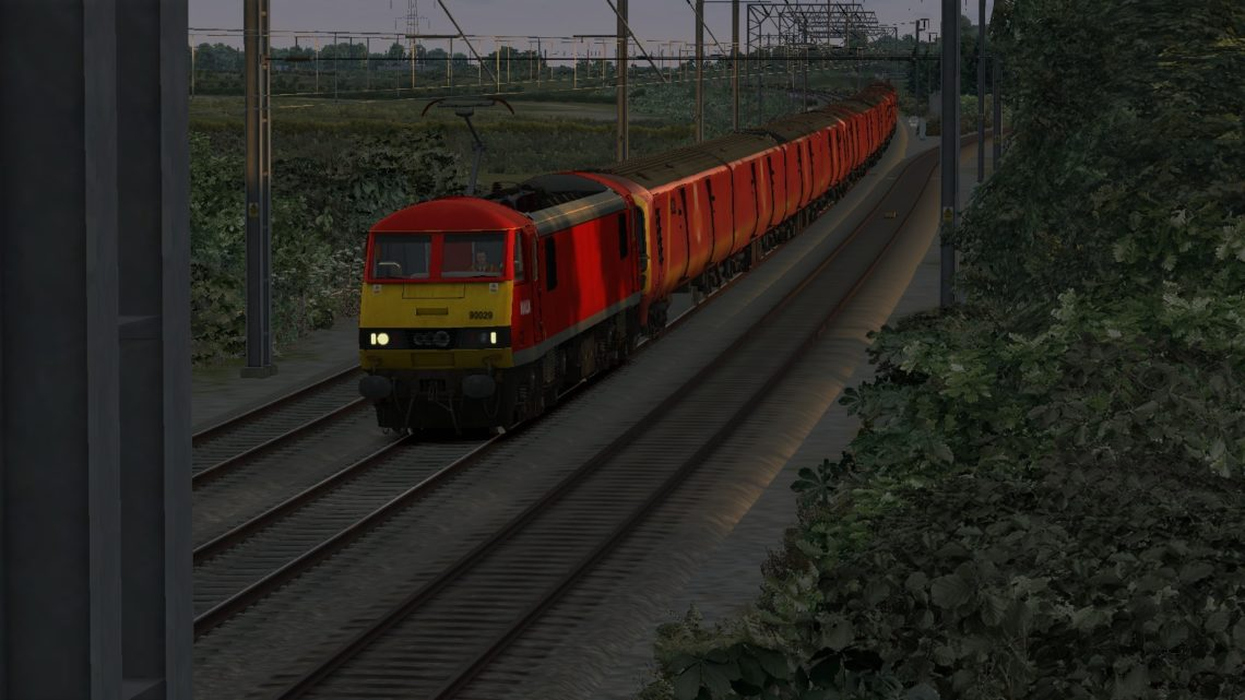 MLH 1S98 Willesden PRC Shieldmuir RMT for WCML NW and Scotland