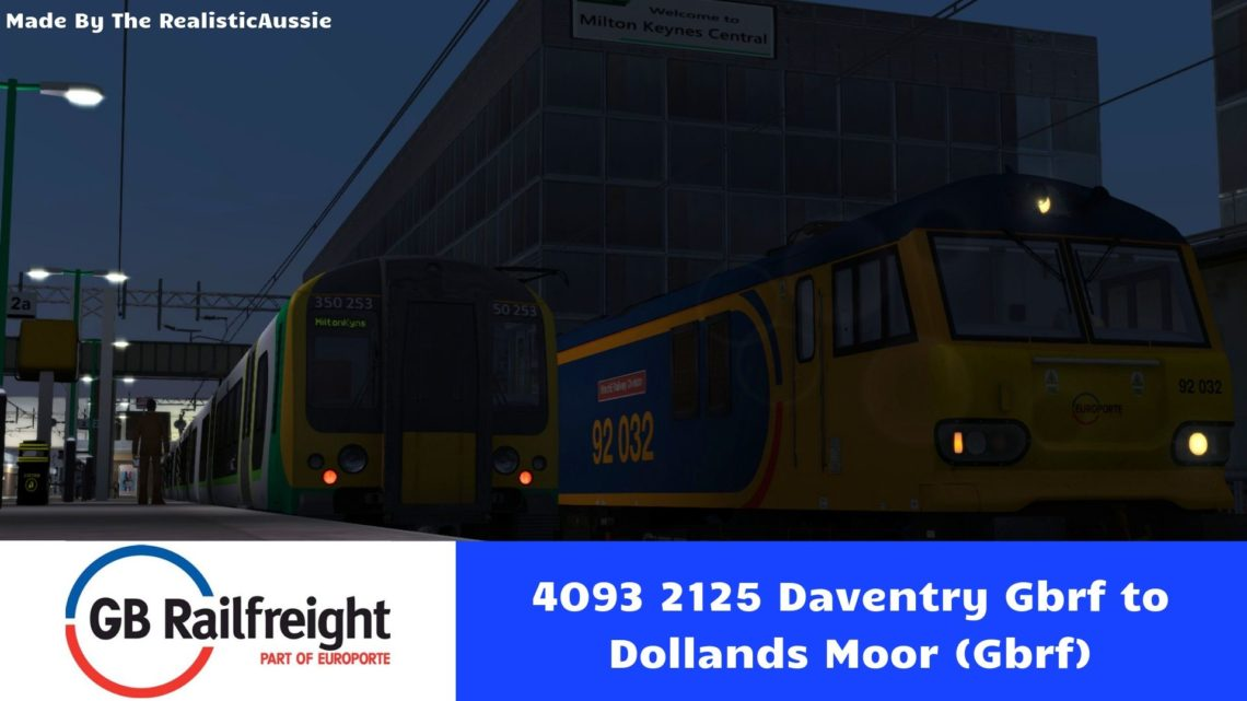 4O93 2125 Daventry Gbrf to Dollands Moor (Gbrf)