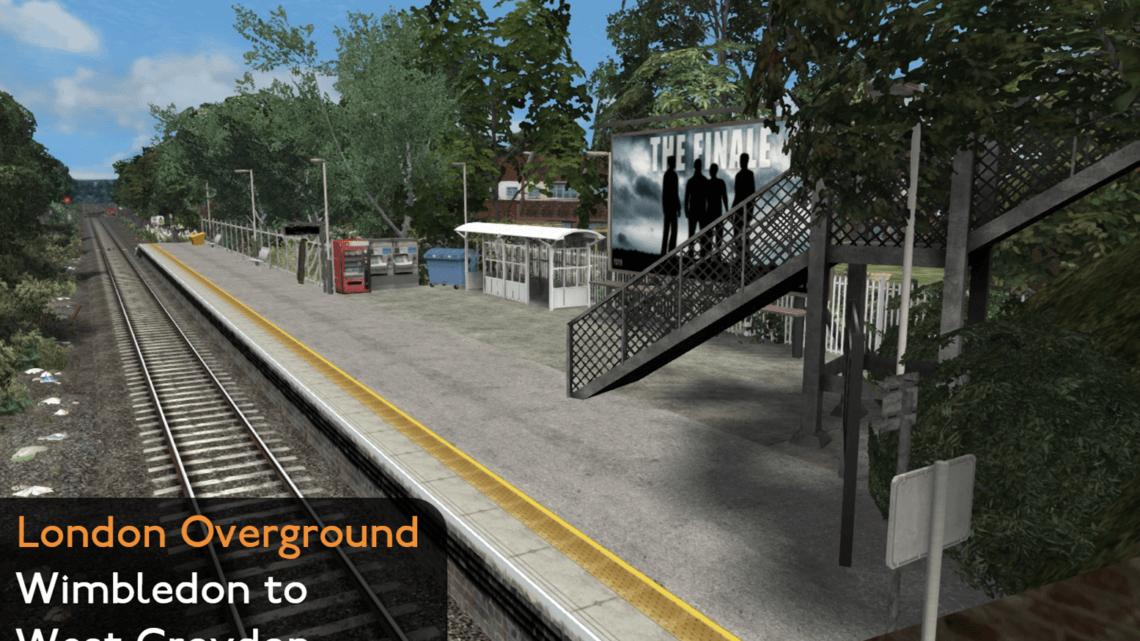London Overground Wimbledon – West Croydon Route