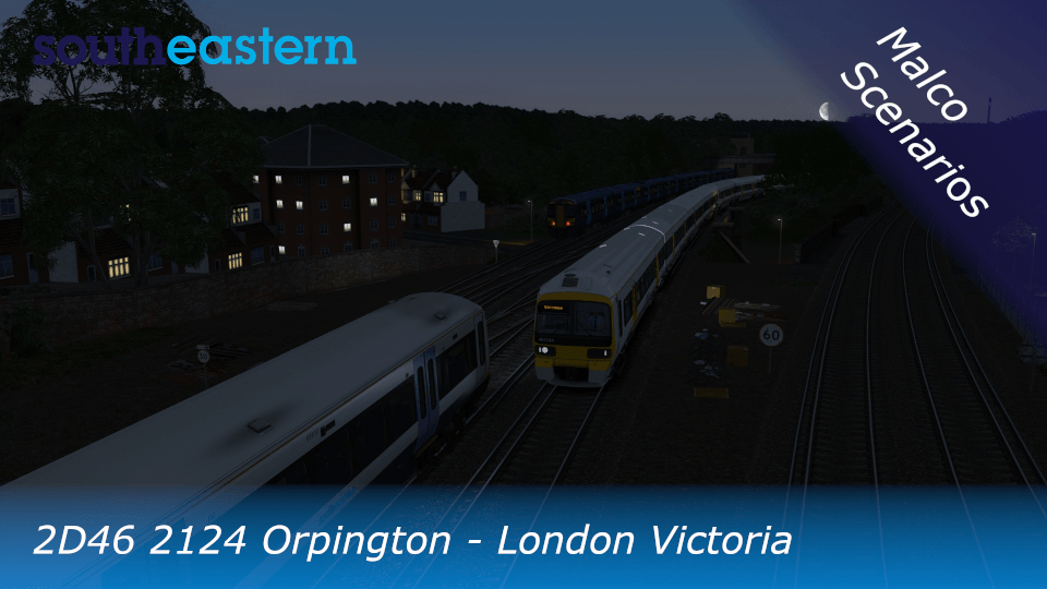 2D46 2124 Orpington – London Victoria