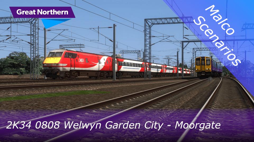 2K34 0808 Welwyn Garden City – Moorgate