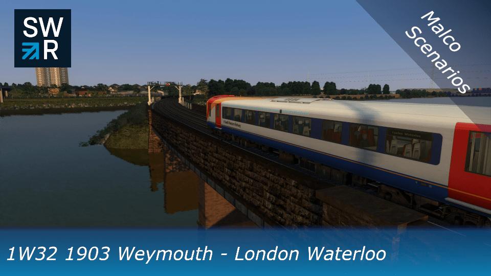1W32 1903 Weymouth – London Waterloo