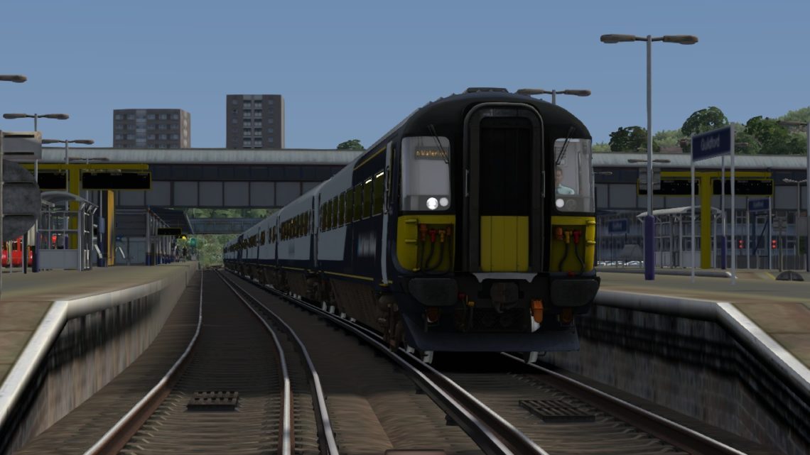 9P52 1515 Portsmouth Harbour – London Waterloo – Class 442!