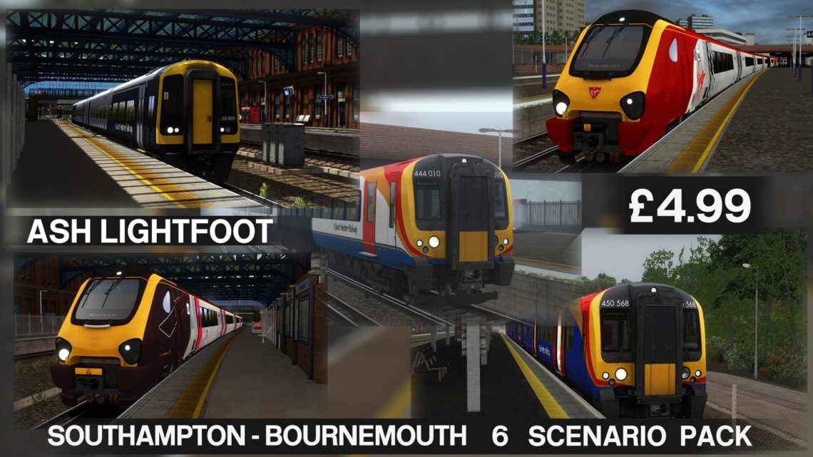 South Western Main Line Southampton to Bournemouth Route Scenario Pack