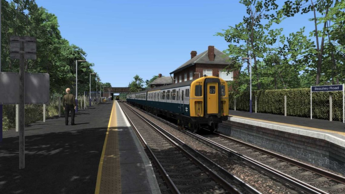 (BR 80s) 13:55 '97' Eastleigh to Lymington Pier – 7th July 1985