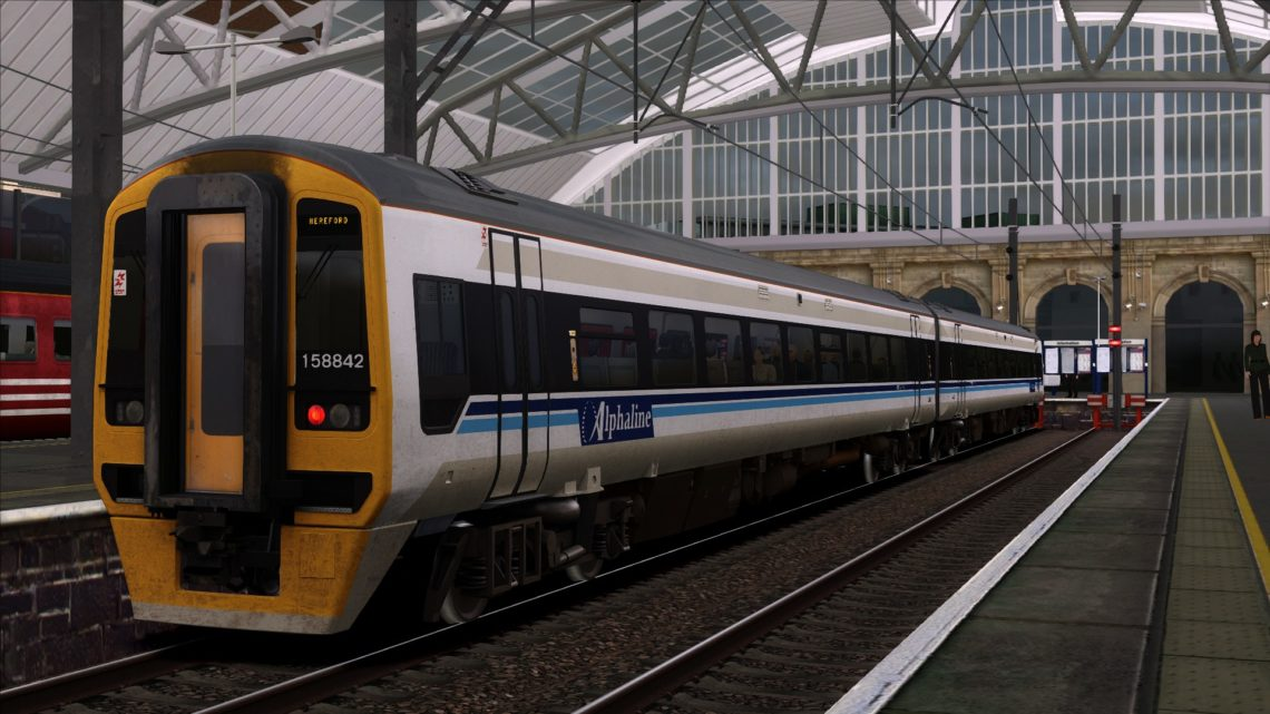 1M33 14.14 Hereford – Liverpool Lime St (2001)