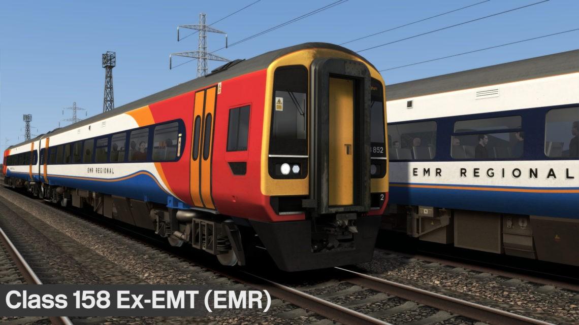 Class 158 Ex-EMT (East Midlands Railway)