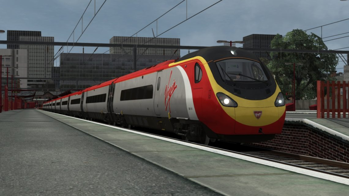 Virgin Trains Class 390 – Dark Grey Door Variant (+AP Version)