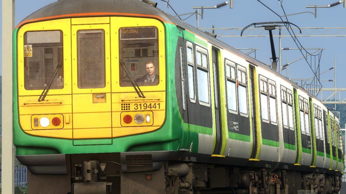 2B65 1841 London Euston to Bletchley