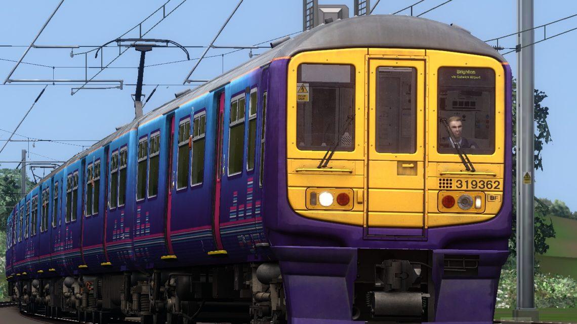 9T39 1349 Bedford to Brighton