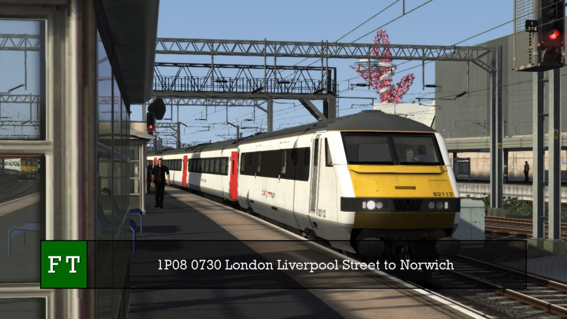 1P08 0730 London Liverpool Street to Norwich