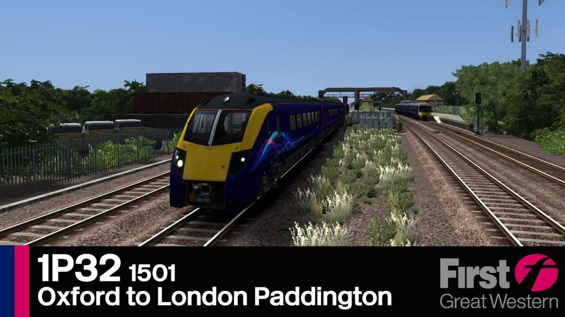 1P32 1501 Oxford to London Paddington