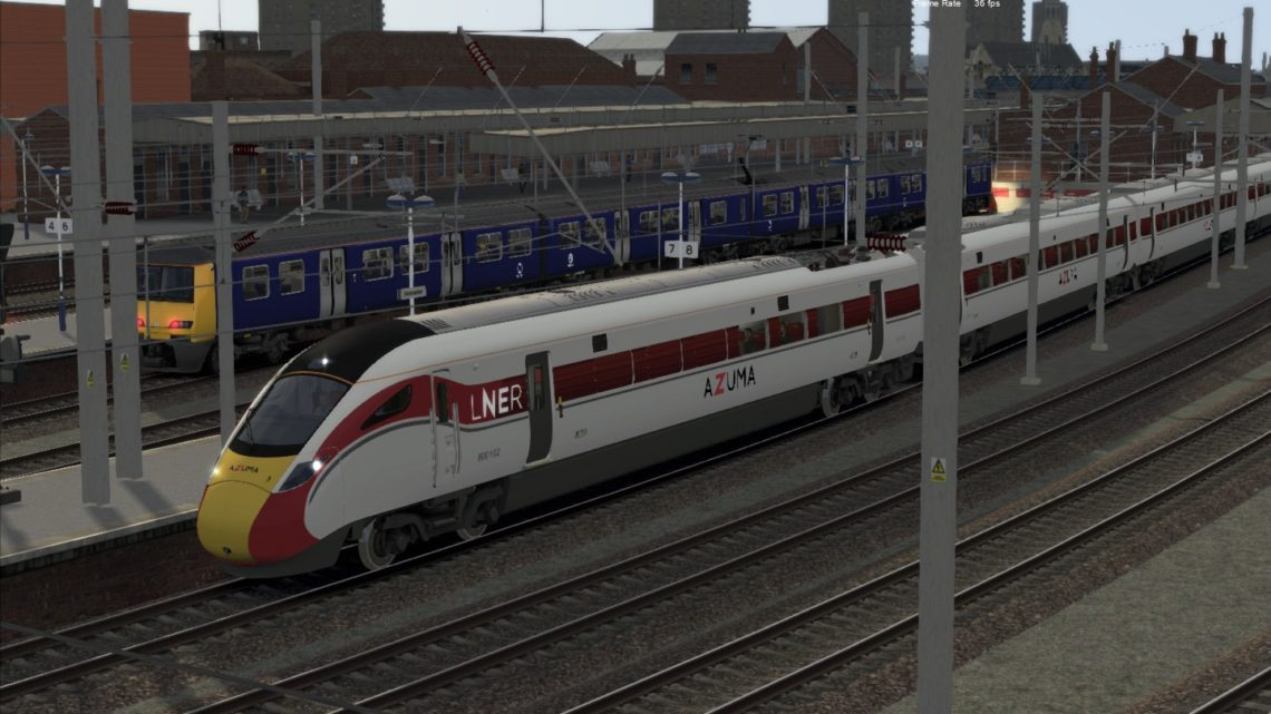 [1D06] 08:33 London Kings Cross to Leeds (Complete journey – Azuma)