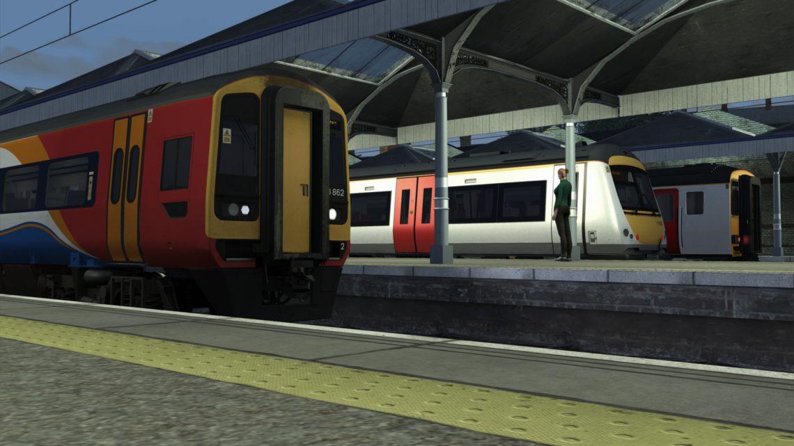 2J92 2105 Norwich to Lowestoft