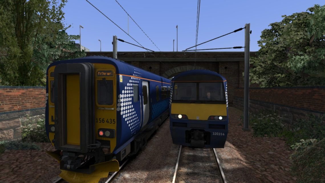(2A51) Glasgow Central – Motherwell