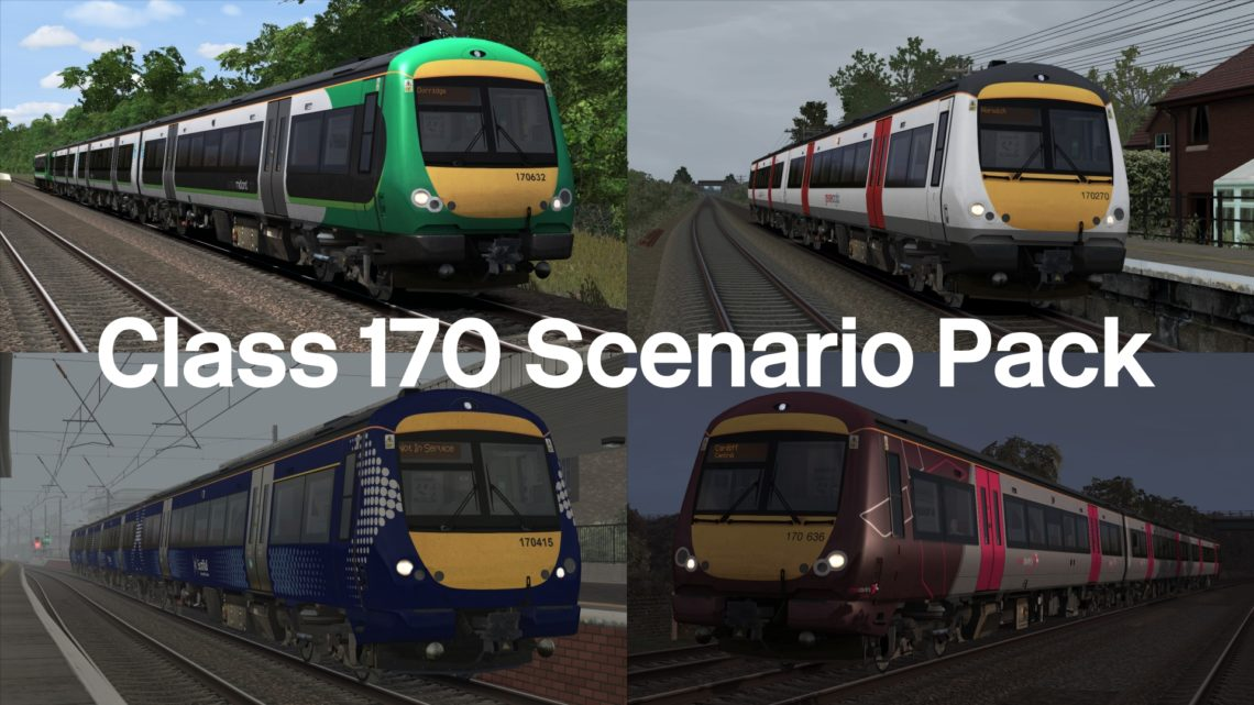 [LG] Class 170 Scenario Pack