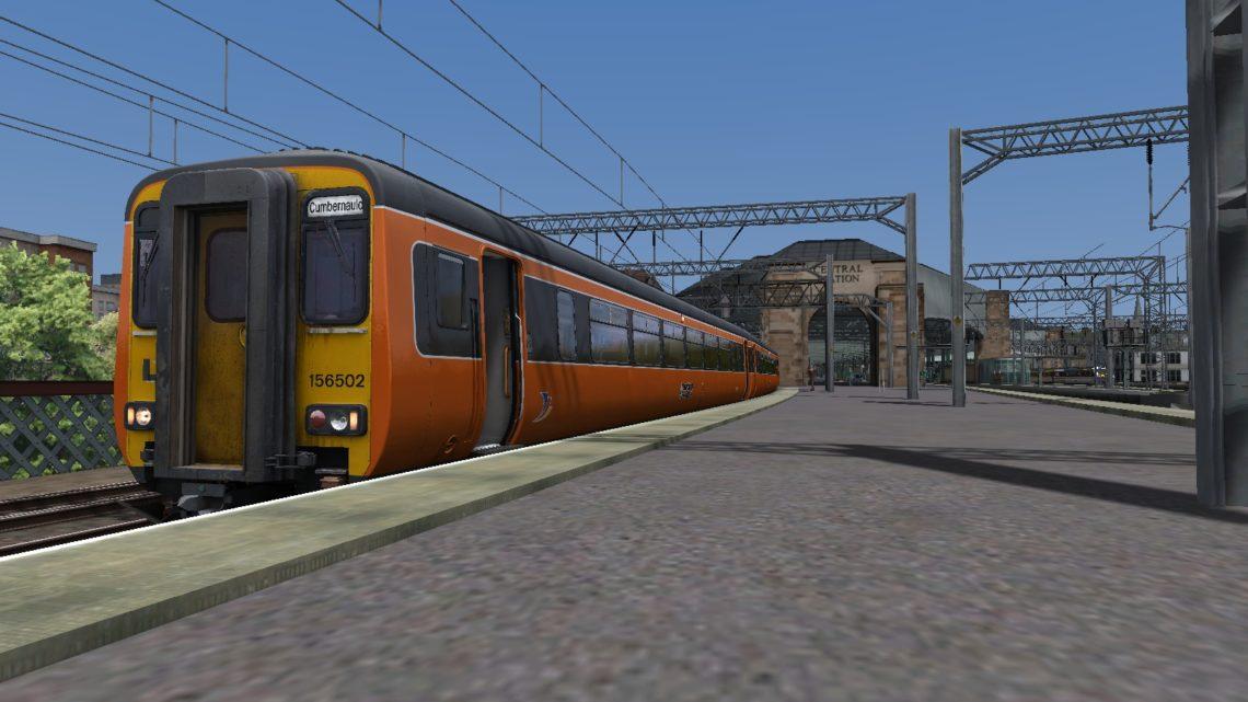 MLH Glasgow to Cumbernauld for NCL (Suburban Glasgow) v6.0h