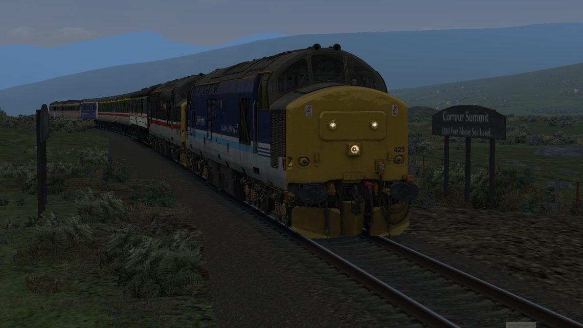 MLH 1B01 Fort William to Glasgow for Suburban Glasgow v6.0h