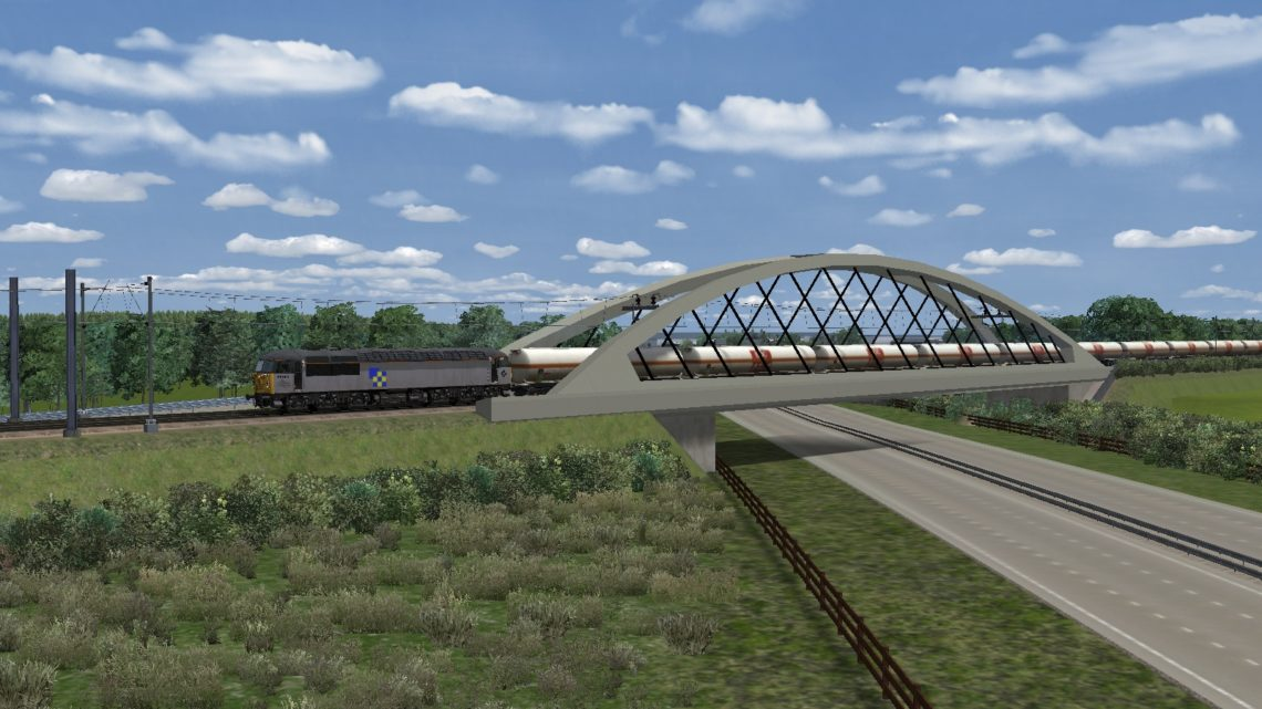 MLH 6M83 Ipswich to Ditton BOC part 5 (Lite) for WCML Mid & NorthWest