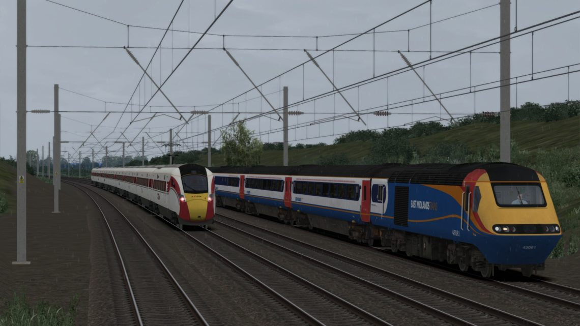1Z25 0802 Leeds to Derby