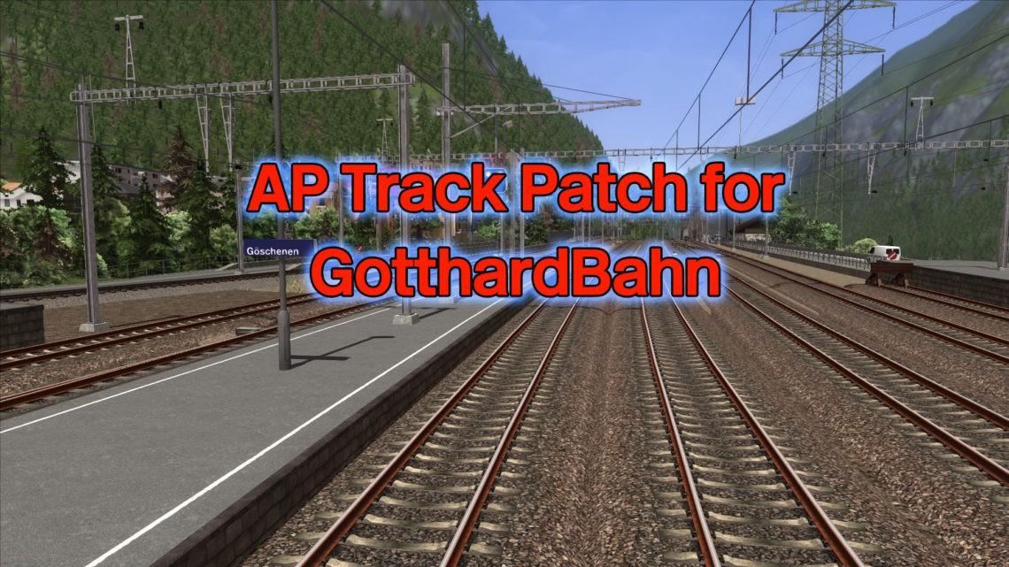 AP Track Patch for Rivet Game's GotthardBahn Route