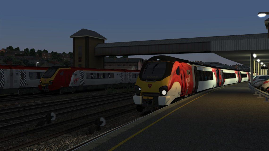 1R13 0448 Holyhead to London Euston