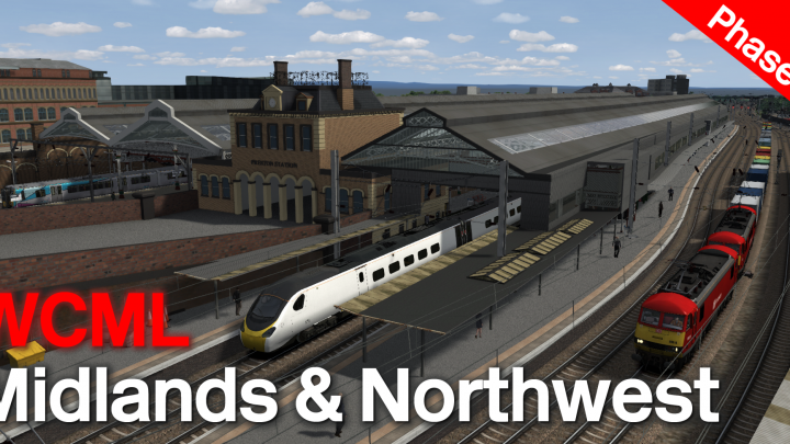 West Coast Mainline Midlands and Northwest (aka – 'Missing Link')