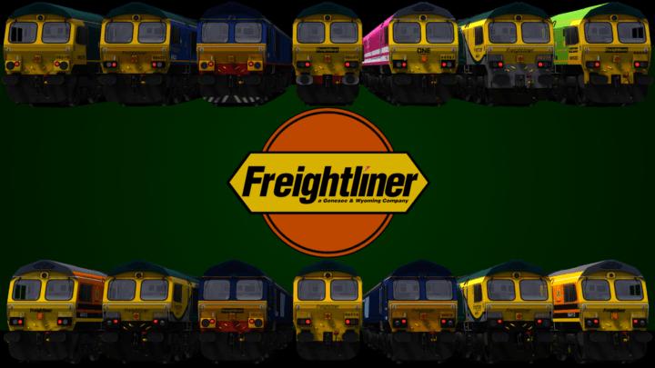 Freightliner Class 66 Pack – v2.1 –