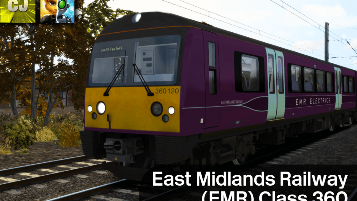 East Midlands Railway (EMR) Class 360 Reskin