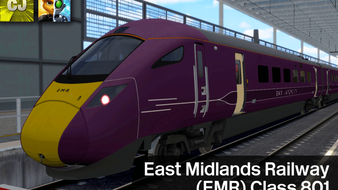 East Midlands Railway (EMR) Class 801 Reskin