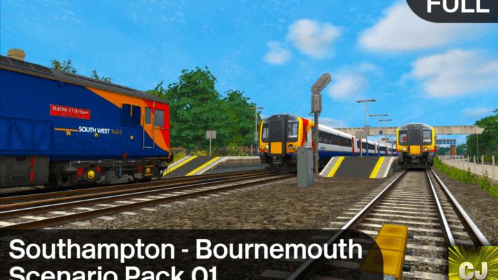 South Western Main Line – Southampton to Bournemouth Scenario Pack 01