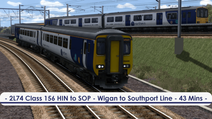 [156] 2L74 AP (Hindley to Southport, 2019)