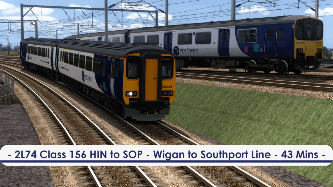 [156] 2L74 Oovee (Hindley to Southport, 2019)