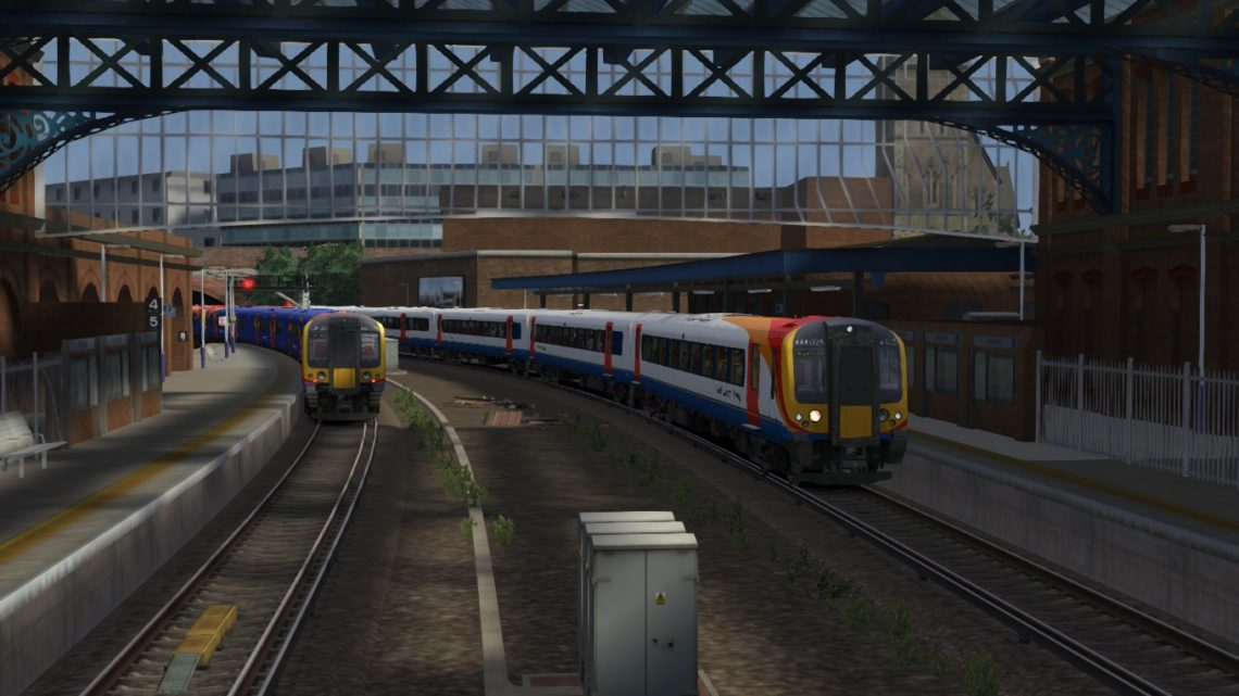2B68 1650 Poole – London Waterloo – Class 450