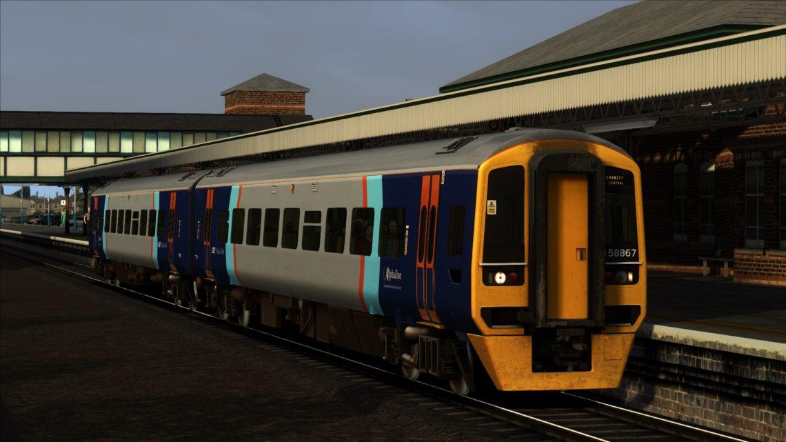 1V75 05.20 Holyhead – Cardiff Central (2000)