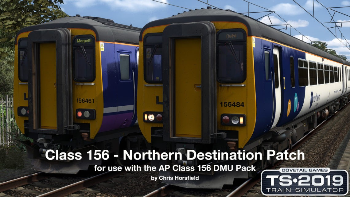Class 156 Northern Destinations Patch