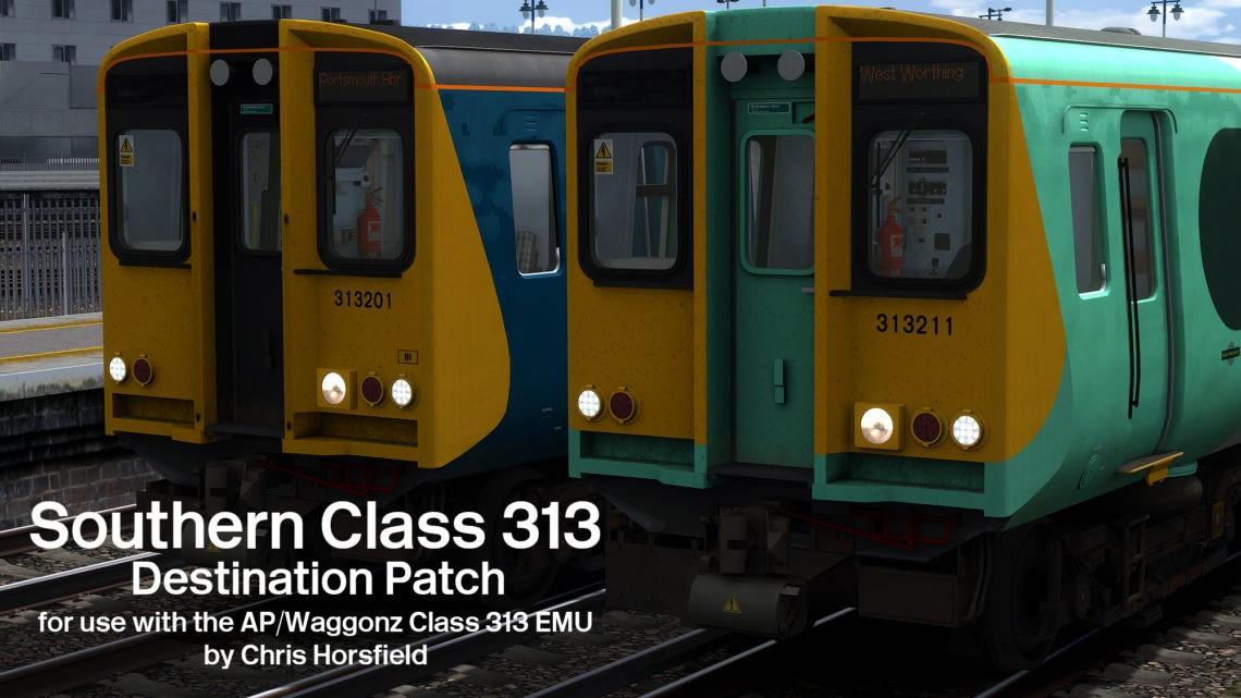 Class 313 Southern Destination Patch