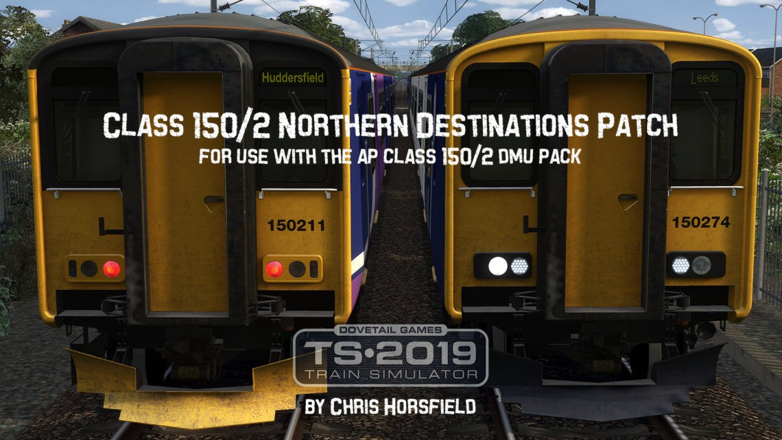 Class 150/2 Northern Destination Patch