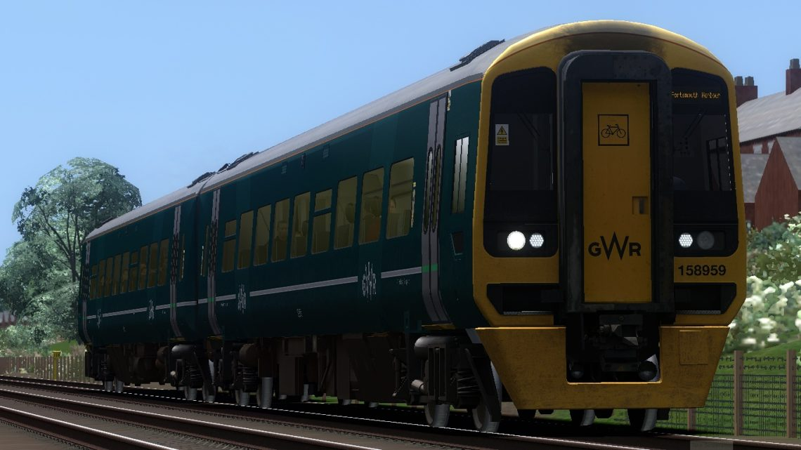 1F19 1330 Cardiff Central to Portsmouth Harbour