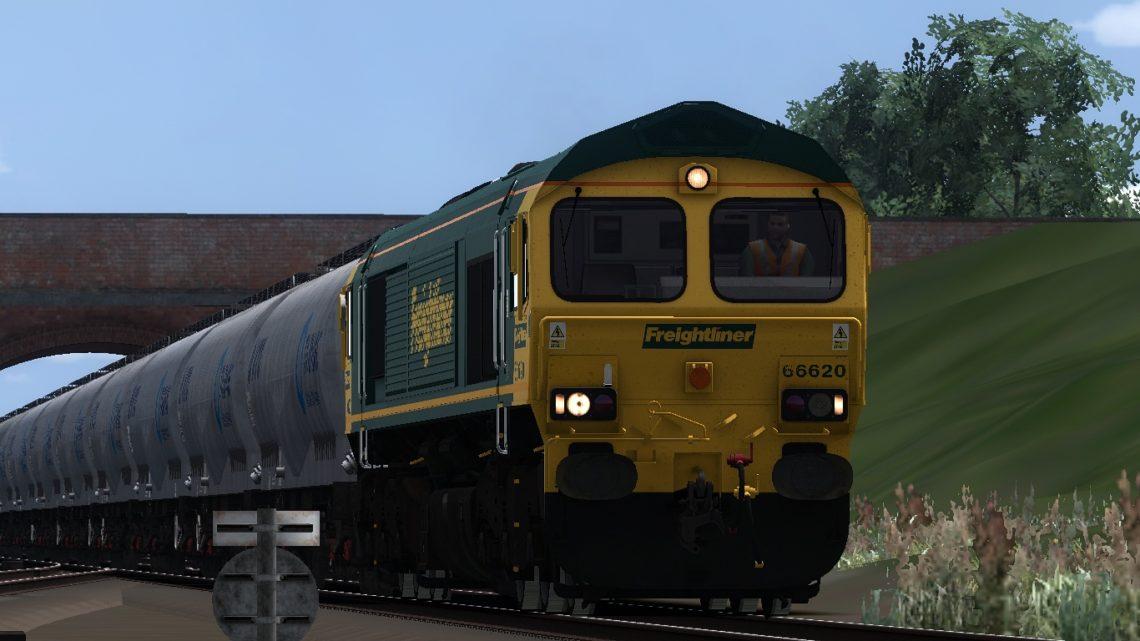 6M36 1220 Westbury Tarmac to Tunstead Sdgs