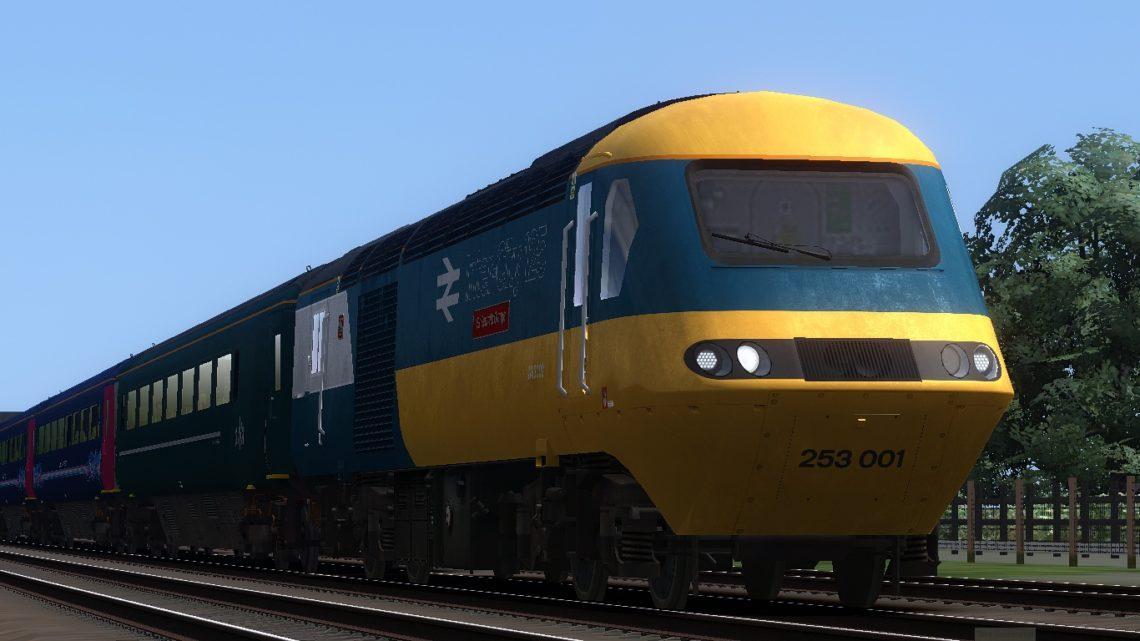 1B27 1115 London Paddington to Cardiff Central
