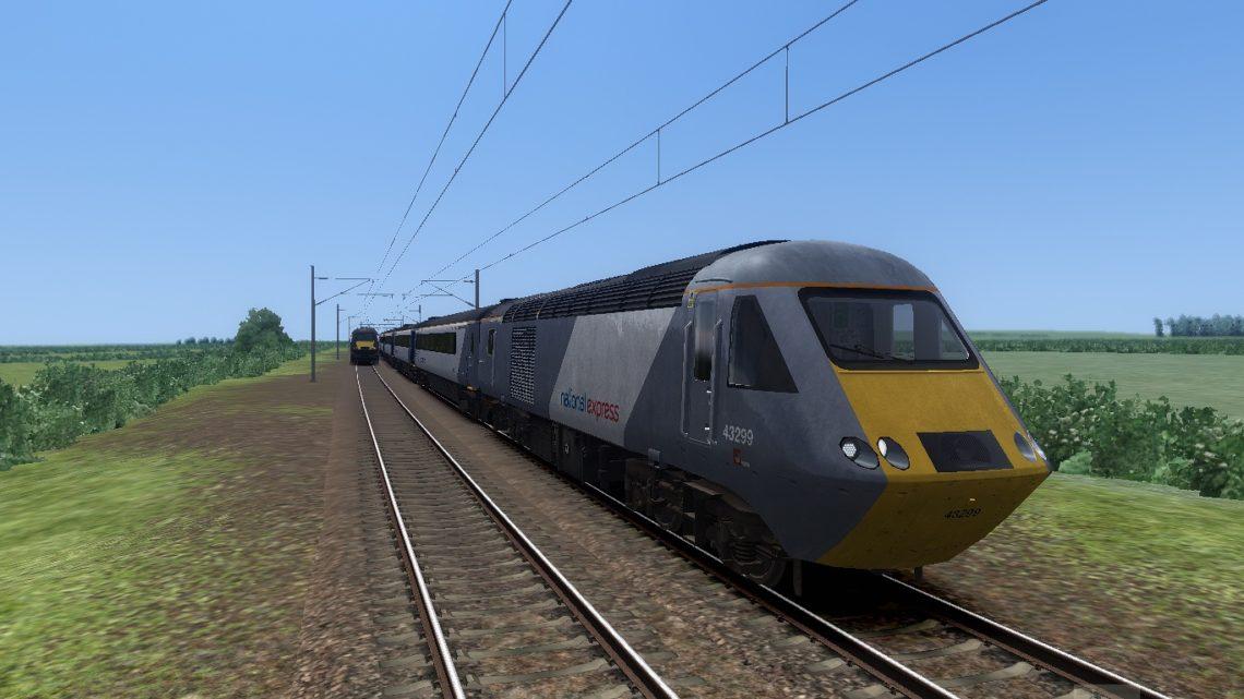 1W11 1000 London Kings Cross to Aberdeen