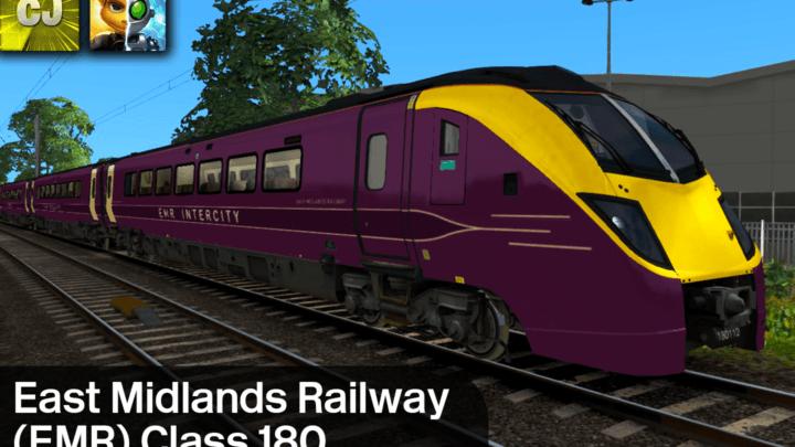 East Midlands Railway (EMR) Class 180 Reskin