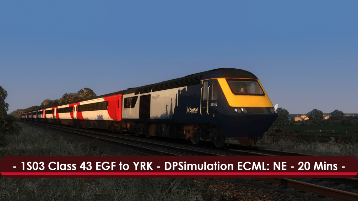 [43] 1S03 (East Garforth to York, 2018)