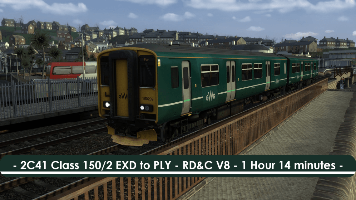[150/2] 2C41 (Exeter to Plymouth, 2018)