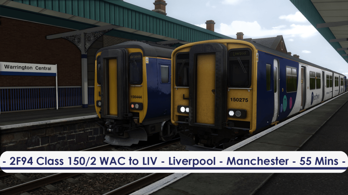 [150/2] 2F94 (Warrington Central to Liverpool Lime Street, 2018)